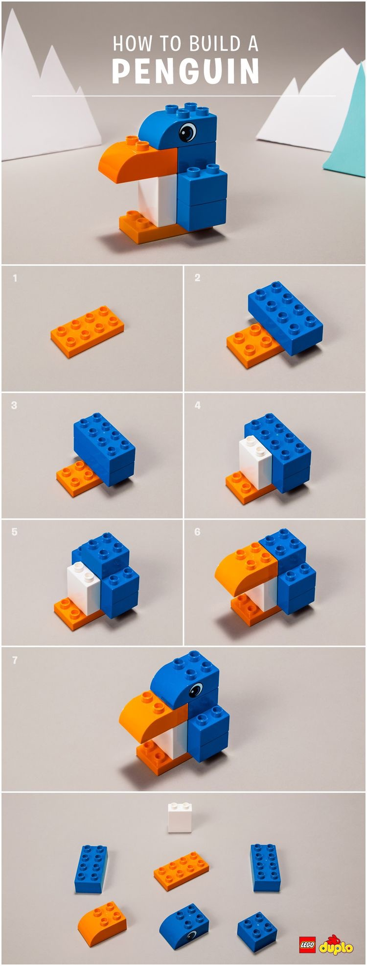 Lego Duplo Instructions Animals The Bean The Belle