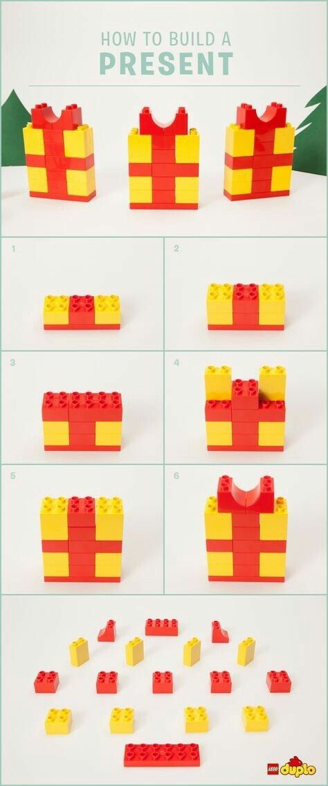 Lego Duplo Instructions Christmas The Bean The Belle