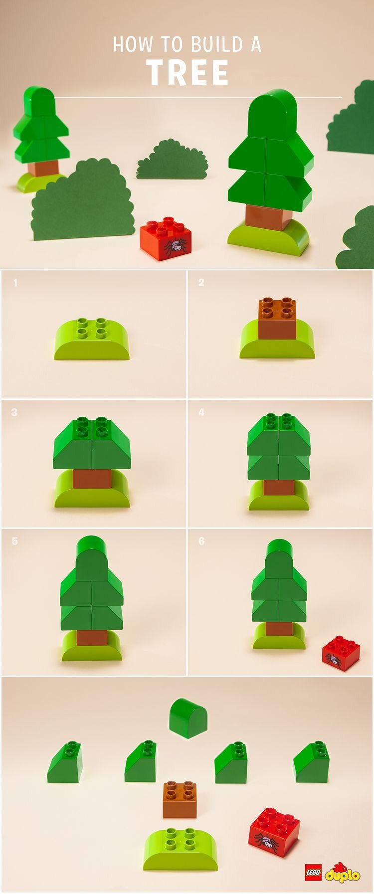 Lego Duplo Instructions Spring The Bean The Belle