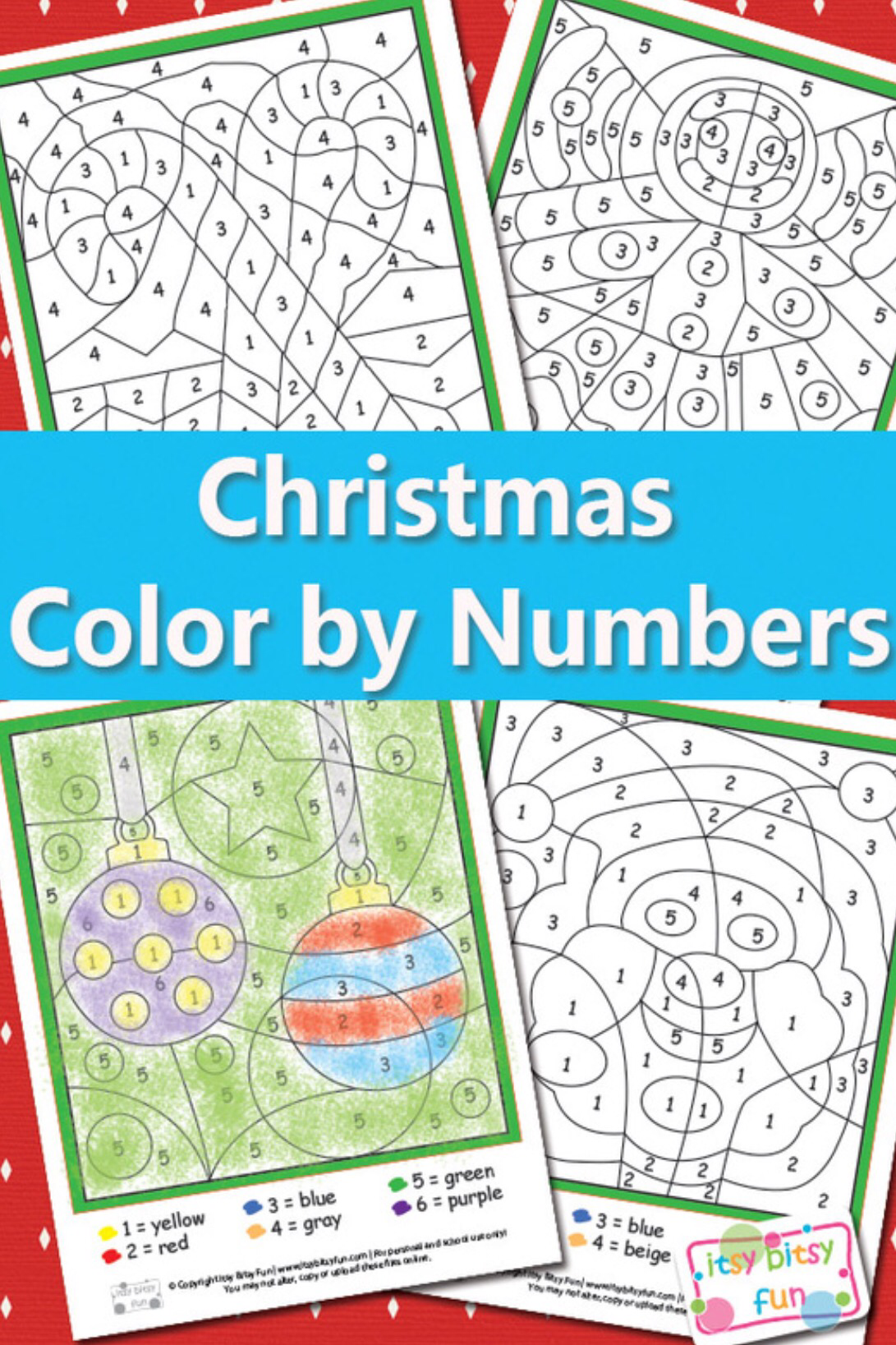 Color By Numbers Worksheet Round Up | The Bean & The Belle